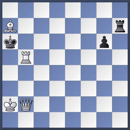 Les Blancs jouent et font mat en 2 coups (position 4)